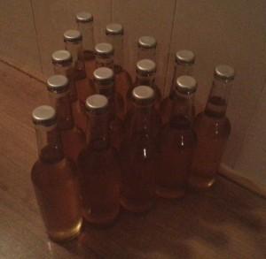 Cider bottelen